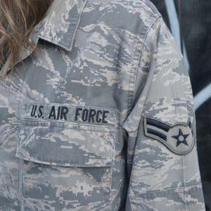 Jackets & Coats - EQUALITY hand painted army jacket